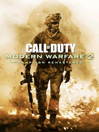 Постер Call of Duty: Modern Warfare 2 Campaign Remastered